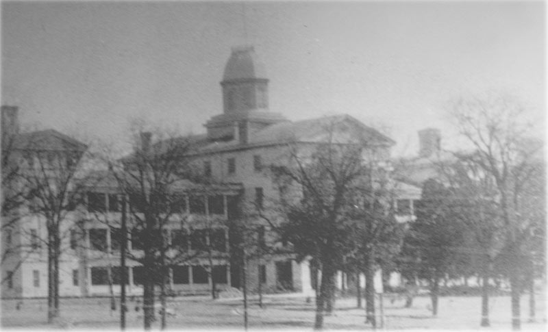 The Mississippi asylum, which closed in 1935. Courtesy of the Mississippi Department of Archives and History